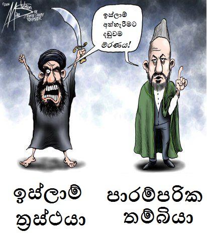 radical-moderate-islam - Sinhala